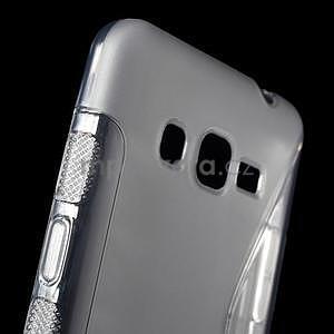 S-line gelový obal na Samsung Galaxy Grand Prime - šedý - 4