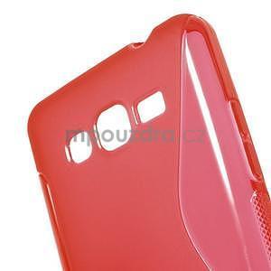S-line gelový obal na Samsung Galaxy Grand Prime - červený - 4