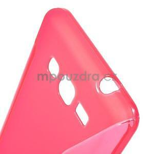 S-line gelový obal na Samsung Galaxy Grand Prime - rose - 4