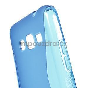 S-line gelový obal na Samsung Galaxy Grand Prime - modrý - 4