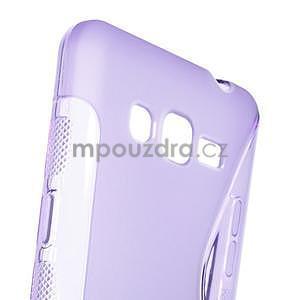 S-line gelový obal na Samsung Galaxy Grand Prime - fialový - 4
