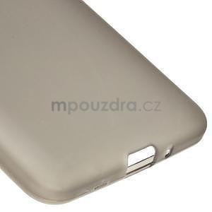 Šedý matný gelový obal pro Samsung Galaxy Grand Prime - 4