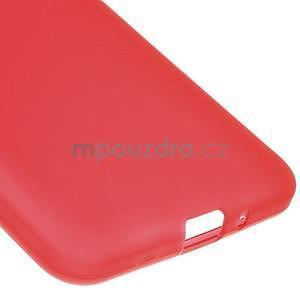 Červený matný gelový obal pro Samsung Galaxy Grand Prime - 4