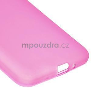 Rose matný gelový obal pro Samsung Galaxy Grand Prime - 4