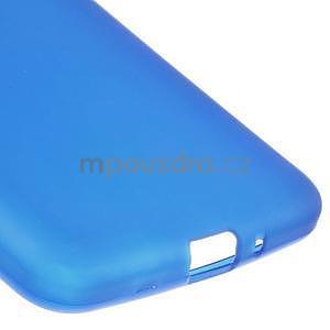 Modrý matný gelový obal pro Samsung Galaxy Grand Prime - 4