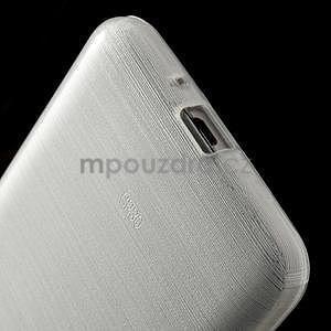 Broušený gelový obal pro Samsung Galaxy Grand Prime -  bílý - 4