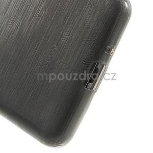 Broušený gelový obal pro Samsung Galaxy Grand Prime - šedý - 4