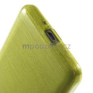 Broušený gelový obal pro Samsung Galaxy Grand Prime - zelený - 4