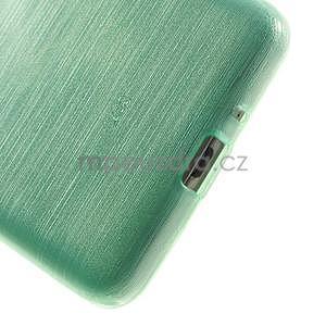 Broušený gelový obal pro Samsung Galaxy Grand Prime - cyan - 4