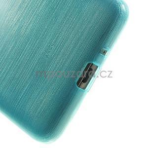 Broušený gelový obal pro Samsung Galaxy Grand Prime - tyrkysový - 4