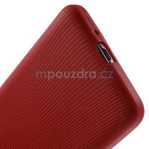 Tenký pogumovaný obal na Samsung Galaxy Grand Prime - červený - 4