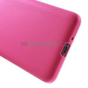 Tenký pogumovaný obal na Samsung Galaxy Grand Prime - rose - 4