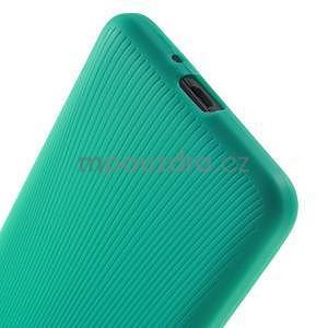 Tenký pogumovaný obal na Samsung Galaxy Grand Prime - cyan - 4