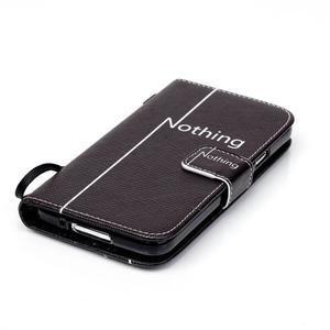 Knížkové PU kožené pouzdro na Samsung Galaxy S5 - nothing - 4