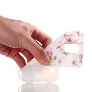 Rich gelový obal na Samsung Galaxy S5 - květiny - 4