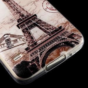 Ultratenký slim gelový obal na Samsung Galaxy S5 - Eiffelova věž - 4
