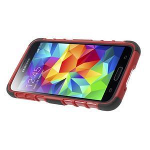 Outdoor odolný kryt na mobil Samsung Galaxy S5 - červený - 4