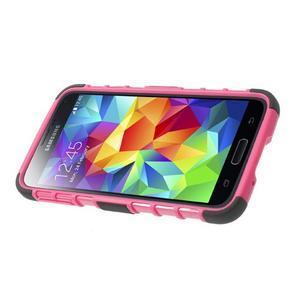 Outdoor odolný kryt na mobil Samsung Galaxy S5 - rose - 4