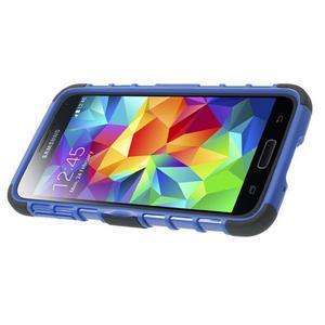 Outdoor odolný kryt na mobil Samsung Galaxy S5 - modrý - 4