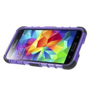 Outdoor odolný kryt na mobil Samsung Galaxy S5 - fialový - 4