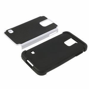 Odolný obal 2v1 na mobil Samsung Galaxy S5 - bílý - 4