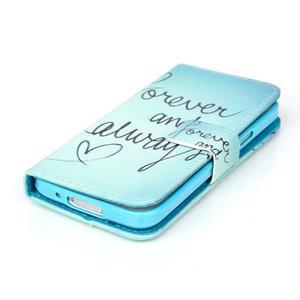 Stand peněženkové pouzdro na Samsung Galaxy S5 mini - love - 4
