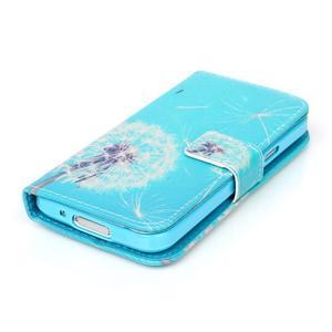 Stand peněženkové pouzdro na Samsung Galaxy S5 mini - odkvetlá pampeliška - 4
