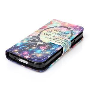 Stand peněženkové pouzdro na Samsung Galaxy S5 mini - dreams - 4