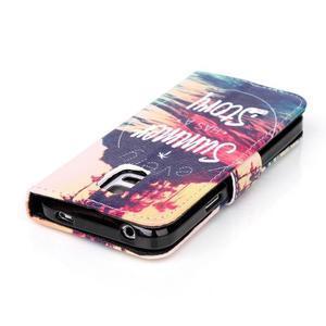 Stand peněženkové pouzdro na Samsung Galaxy S5 mini - příběh - 4