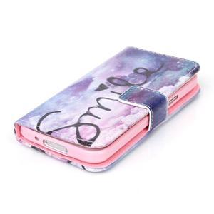 Stand peněženkové pouzdro na Samsung Galaxy S5 mini - smile - 4