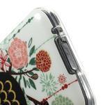 Owls gelový obal na Samsung Galaxy S5 mini - paní sova - 4/4