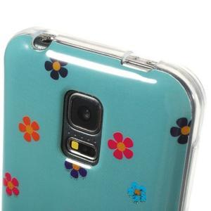 Owls gelový obal na Samsung Galaxy S5 mini - soví pár - 4