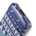 Ultratenký obal na mobil Samsung Galaxy S5 mini - geo tvary - 4/4