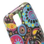 Softy gelový obal na Samsung Galaxy S5 mini - barevné kruhy - 4/5