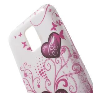 Softy gelový obal na Samsung Galaxy S5 mini - srdce - 4
