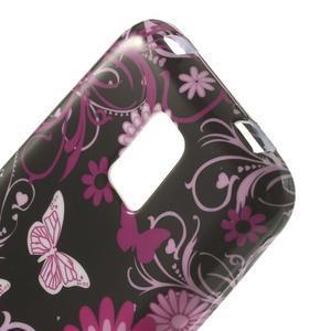 Softy gelový obal na Samsung Galaxy S5 mini - kouzelní motýlci - 4