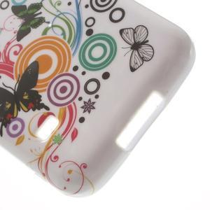 Softy gelový obal na Samsung Galaxy S5 mini - magičtí motýlci - 4