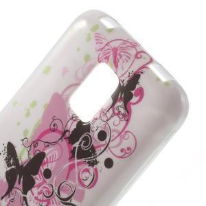 Softy gelový obal na Samsung Galaxy S5 mini - motýlci - 4