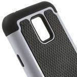 Odolný kryt 2v1 na mobil Samsung Galaxy S5 mini - bílý - 4/5