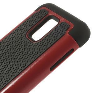 Odolný kryt 2v1 na mobil Samsung Galaxy S5 mini - červený - 4