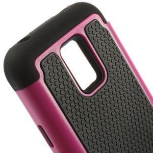 Odolný kryt 2v1 na mobil Samsung Galaxy S5 mini - rose - 4