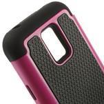 Odolný kryt 2v1 na mobil Samsung Galaxy S5 mini - rose - 4/5