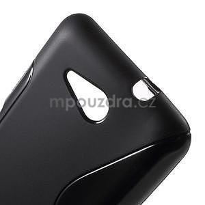 S-line gelový obal pro Sony Xperia E4g - černý - 4