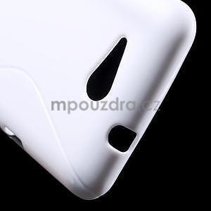 S-line gelový obal pro Sony Xperia E4g - bílý - 4