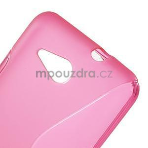 S-line gelový obal pro Sony Xperia E4g - rose - 4