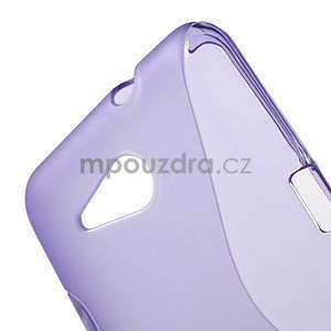 S-line gelový obal pro Sony Xperia E4g - fialový - 4