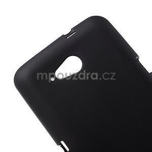 Obal z matného gelu pro Sony Xperia E4g - černý - 4