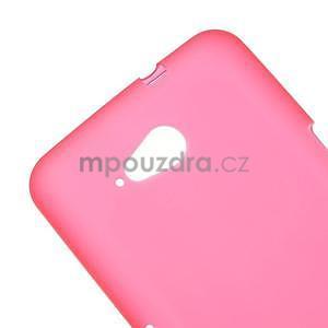 Obal z matného gelu pro Sony Xperia E4g - červený - 4