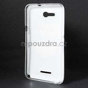 Gelový obal na Sony Xperia E4g - úsměv - 4