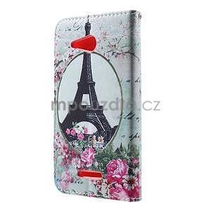 Peněženkové pouzdro na Sony Xperia E4g - Eiffelova věž - 4